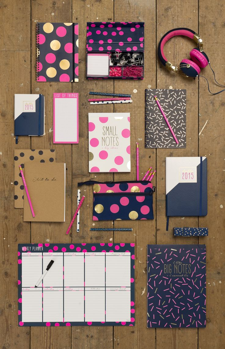 Get organised in #2015 with Typo's latest collection! #typoshop #stationery