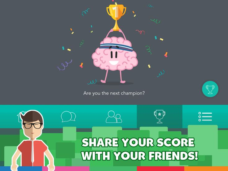 Are you the next champion ? Share your score with your friends !