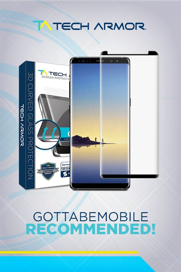 Special thanks to GottaBeMobile for naming the TA #Galaxy #Note8 3D Curved Screen Protector as one of the best!  #recommended #samsung