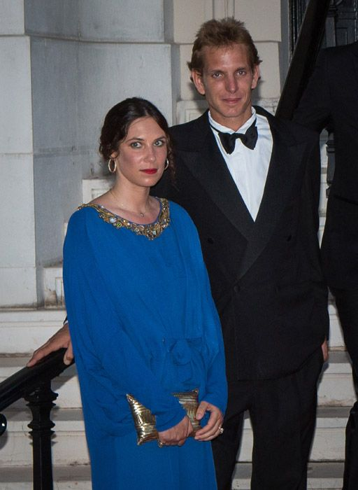 Andrea Casiraghi with his fiancée Tatiana Santo Domingo, set their wedding date for 31 August 2013