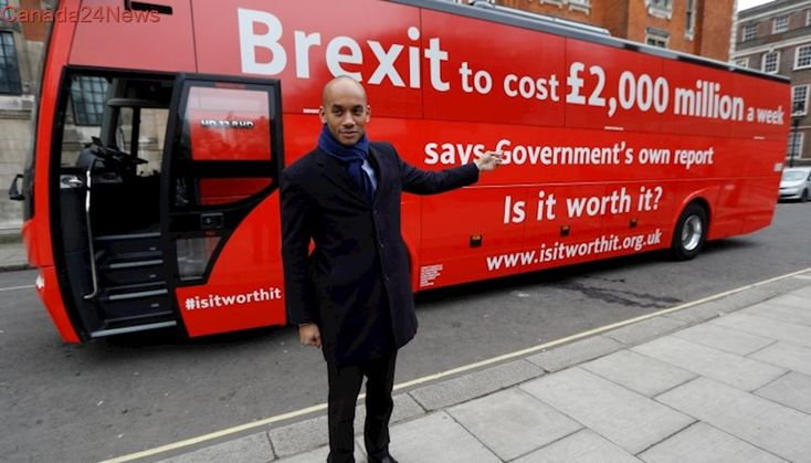 Anti-Brexit campaign warns of high price tag for leaving EU
