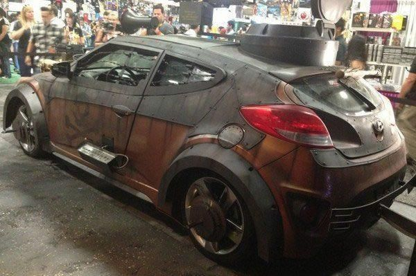 Hyundai Veloster Zombie Survival Machine Can Take On Any Apocalypse