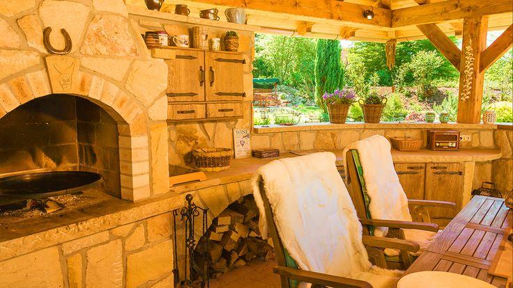 Kamenná kuchyně La Provence pohled 6