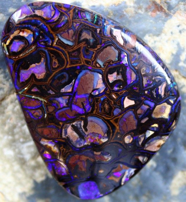 Purple opal. It even sounds beautiful. Say it out loud! Purple opal...