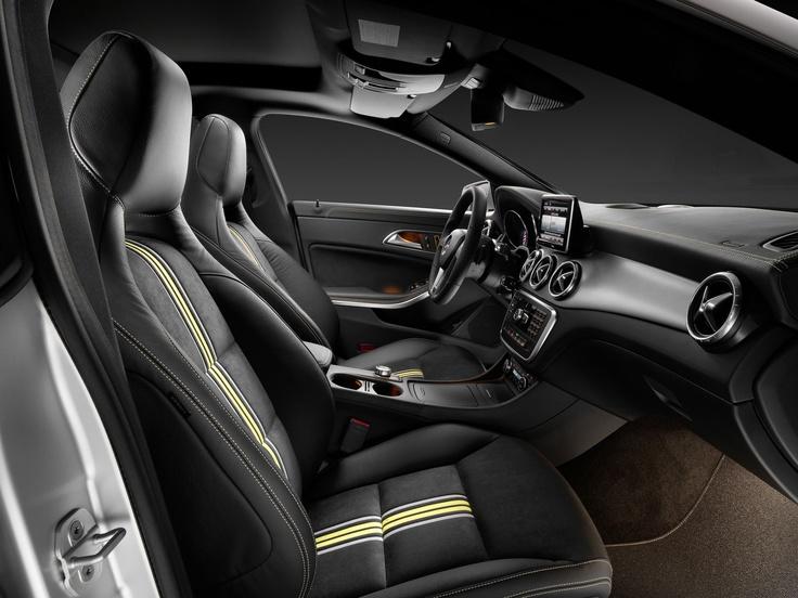 Mercedes-Benz CLA [Fuel consumption combined: 7,1-3,8 (l/100 km) CO2 emission combined: 165-99 g/km] #mbhess #mbcars #mbcla