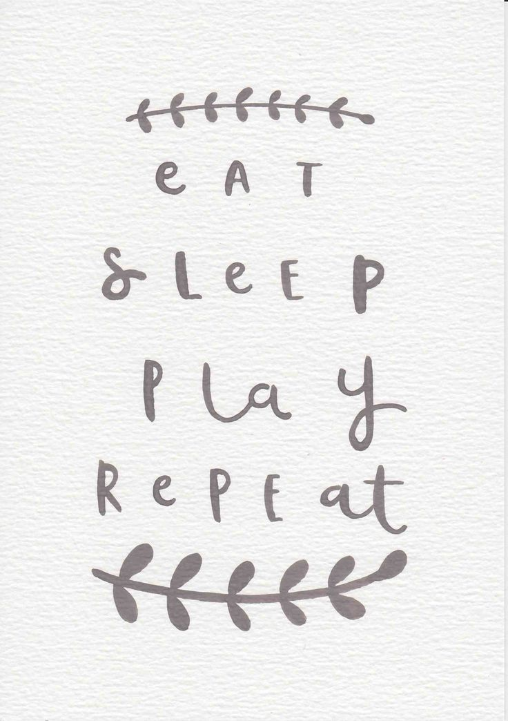 Eat Sleep Play Repeat Quote, Nursery Wall Art, Baby Gift, Neutral Nursery Decor, Grey Kids Room Decor, Baby Gift, Quote Art, Kids Room Art by violetandalfie on Etsy