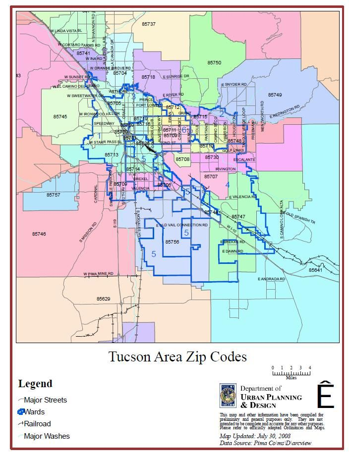 tucson arizona zip code map free Zip Code Tucson Map Zip Code Map Arizona Map Zip Code Map