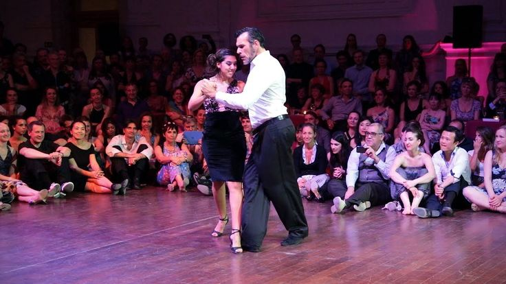 Tango: Roxana Suarez y Anibal Lautaro, 30/4/2017, Brussels Tango Festiva...