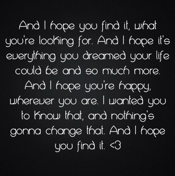 I hope you find love quotes