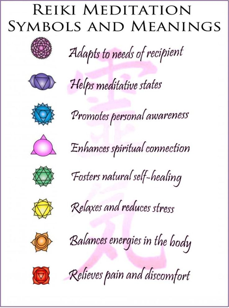 Reiki Meditation symbols meanings | Reiki by Jax ...