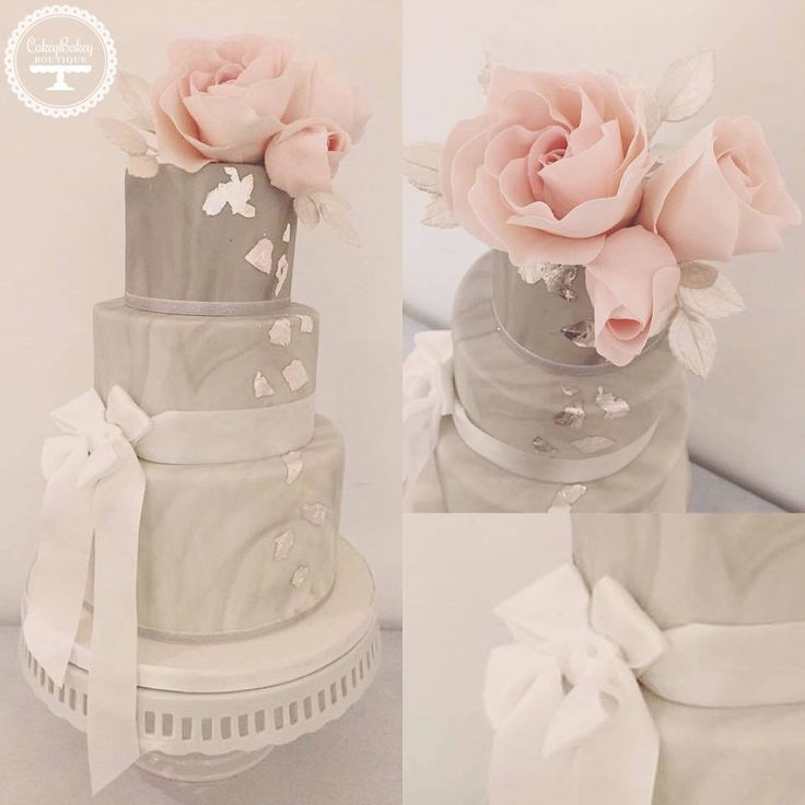 grey wedding cake with pink flowers best 25 pink grey wedding ideas on 14985