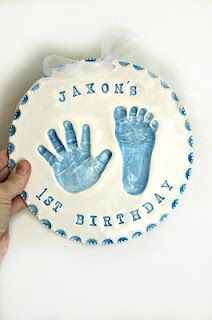 Online Orders of Hand and footprints, pop out prints by Clayful Impressions by Debbie (951)600-9440
