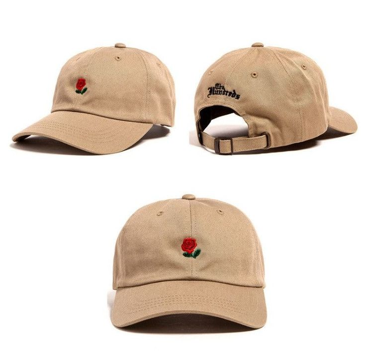 New Streetwear for 2016. The Hundreds Rosé Dad Hat in various colors.