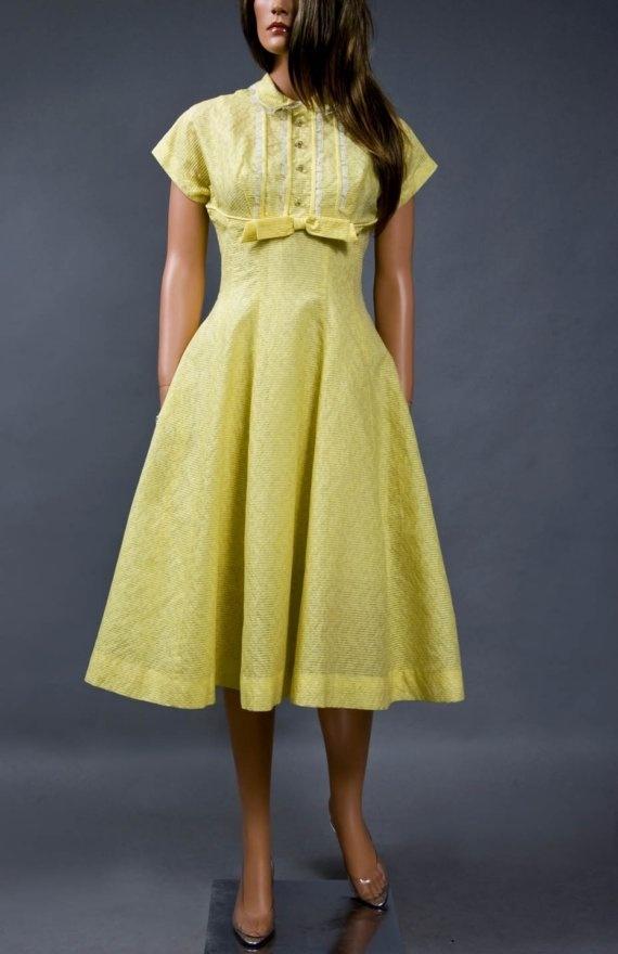 Yellow brick goldenrod dresses