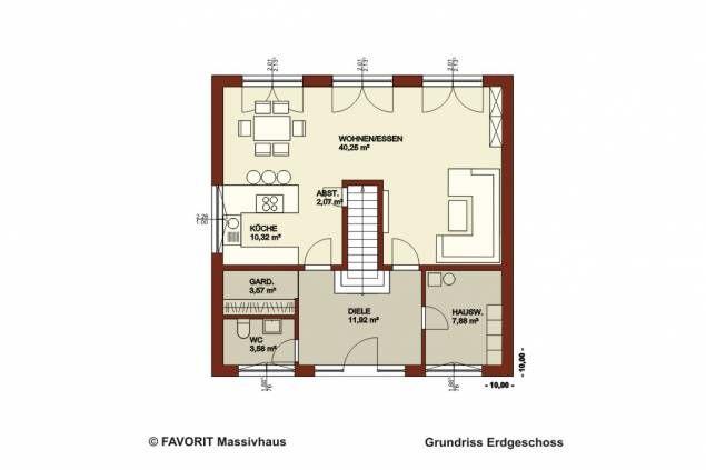 ber ideen zu massivhaus auf pinterest energiesparhaus einfamilienhaus mit. Black Bedroom Furniture Sets. Home Design Ideas