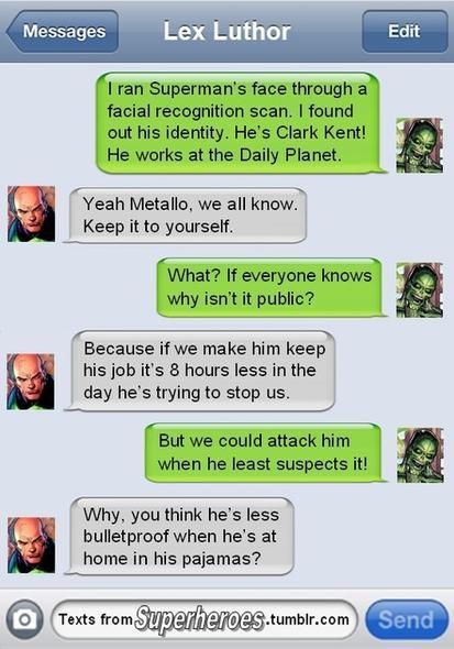 The REAL reason why super villains don't attack superheroes in their civilian identities. Well at least for Superman.
