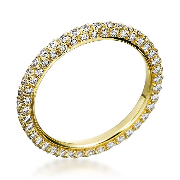 Michael B MB34012001 Wedding Ring This 23mm 18K Yellow Gold From The