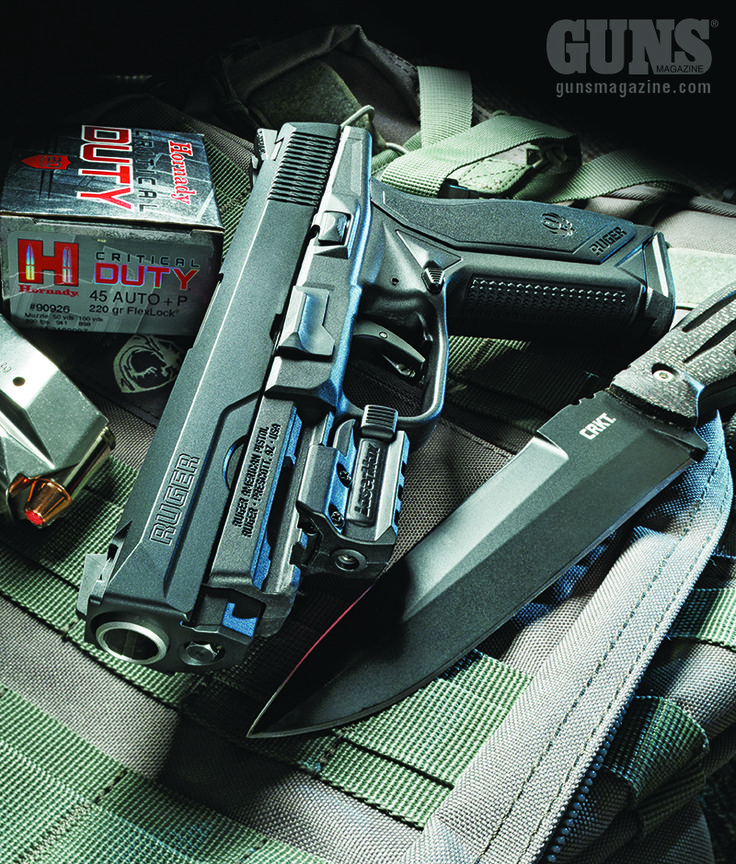 First-Generation American | Ruger's New Auto-A Modular, Striker-Fired Powerhouse…