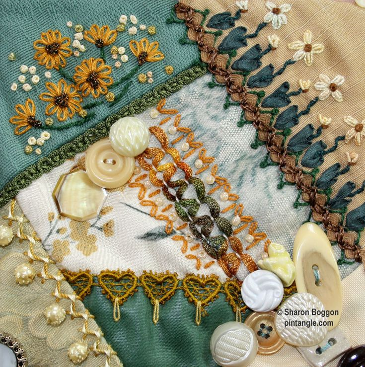 crazy quilt pattern - Pintangle