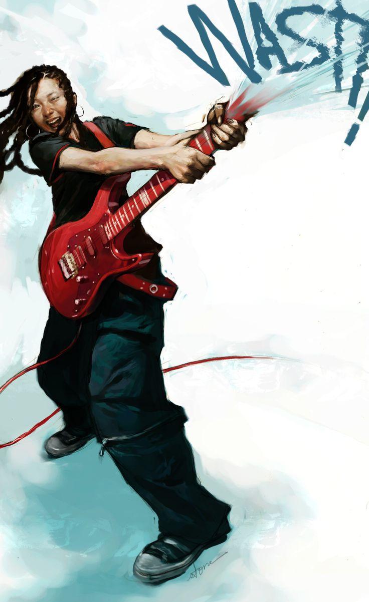 'WASH!' - Amateur Rock Festival poster  2003. painter6.1
