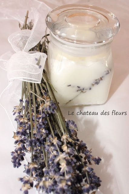 #Coconut lavender oil DIY. Great #homemade #gift.