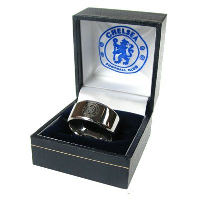 Chelsea FC Medium Band Ring | Chelsea FC Gifts | Chelsea FC Shop