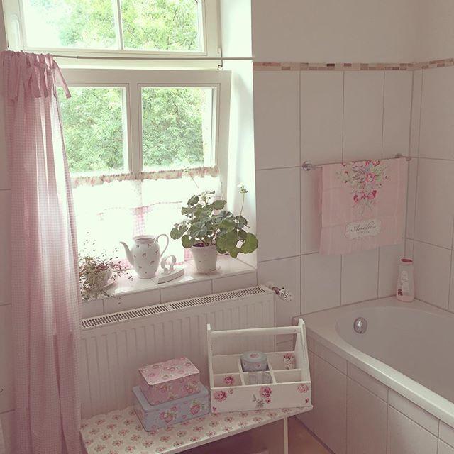 828 best ThE BaTH images on Pinterest Bathroom, Bathroom ideas - shabby chic badezimmer