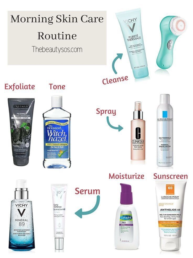 Morning Skin Care Routine Tips You Need To Try The Beauty Sos Morning Skin Care Routine Morning Skin Routine Skin Care