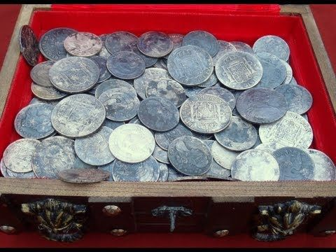 Metal Detecting: Finding A Huge Cache of Old Silver Coins