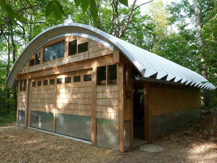 build quonset roof quonset huts home workshop. Black Bedroom Furniture Sets. Home Design Ideas