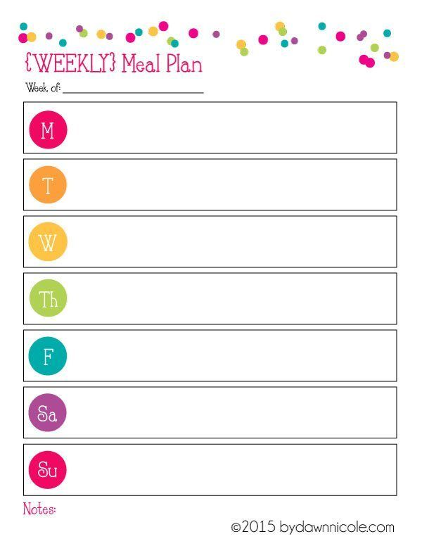 The 25+ best Meal planner template ideas on Pinterest Meal - food journal templates