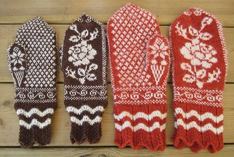 Textil Hemslöjd - Mönsterstickning
