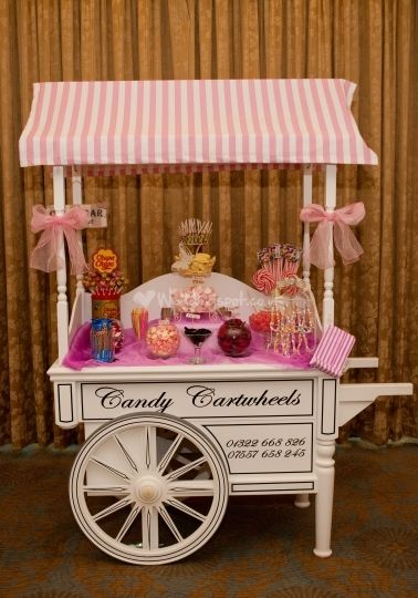 Vintage Style Candy Cart