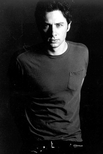 Zach Braff whom I had a dream I was dating. not too bad