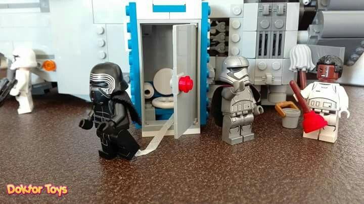 CLEAN IT ! by DOKTOR TOYS LA RAGIONE PER CUI FINN HA LASCIATO IL PRIMO ORDINE  Lego star wars