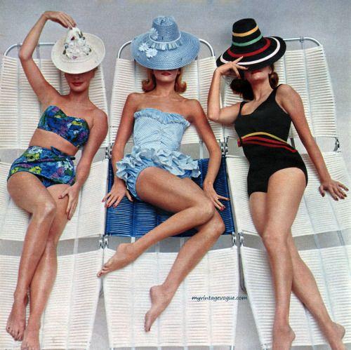 Sea Fashions of California 1960 | Temple Towels, www.templetowels.com