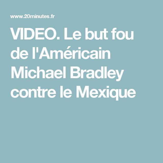 VIDEO. Le but fou de l'Américain Michael Bradley contre le Mexique