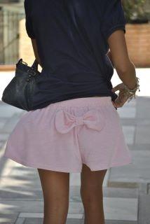 Madame shou shou pinky shorts
