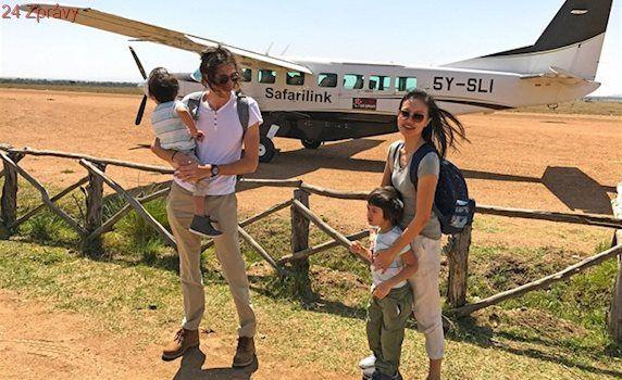 Rodina létá po celém světe zadarmo, letenky našetřili přes kreditní karty
