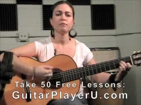 Flamenco guitar lesson. Strumming, chords, basic