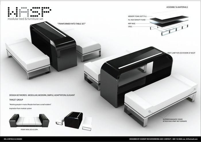 Σχεδιασμός επίπλων κατά Chairat V στο Coroflot.com