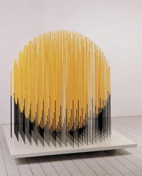 Jesús Rafael Soto was a Venezuelan op and kinetic artist, a sculptor and a painter. He was born in Ciudad Bolívar, Venezuela