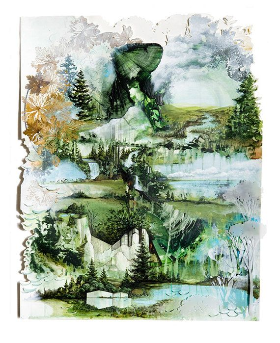 Bon Iver, Bon Iver Album Art Print - Calgary Album Cover Print. Signed limited edition offered by the original artist