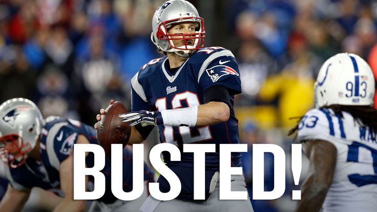 AGAIN;BUT ONLY THE NEW YORK FOOTBALL GIANTS did stop this cheating franchise from winning 2 OF THEM,SB #42#46,but these cheaters still got 4 they cheated in,ha!WTF, what you gonna do fer yer buddy Go-To-Hell Goddell,you covered up Spygate,you gotta do something about Deflategate like suspending golden-boy!!