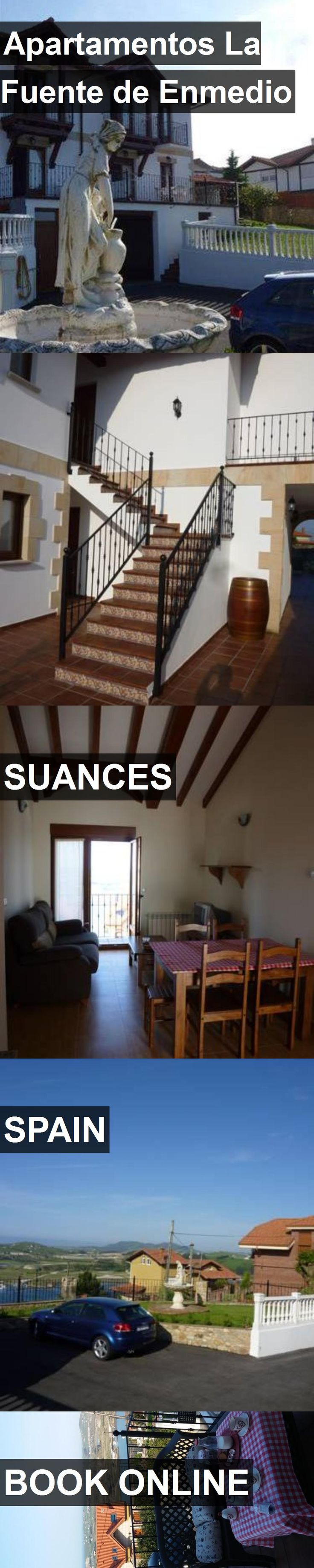 Hotel Apartamentos La Fuente de Enmedio in Suances, Spain. For more information, photos, reviews and best prices please follow the link. #Spain #Suances #travel #vacation #hotel