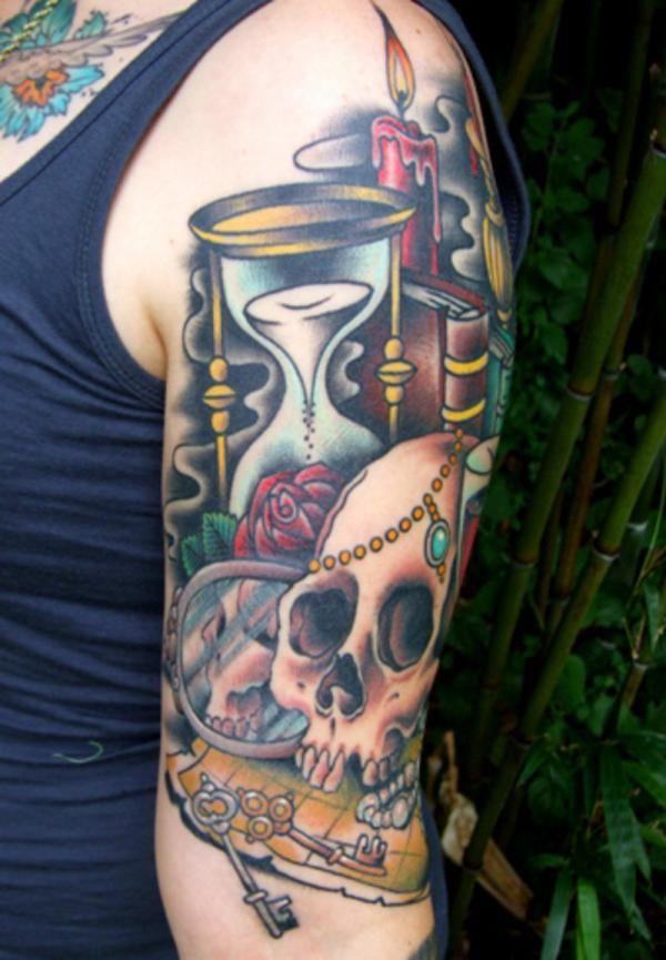 best 20 quarter sleeve tattoos ideas on pinterest best