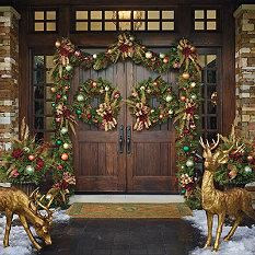 Florist's Choice Decorated Door - Christmas Decorations - Frontgate