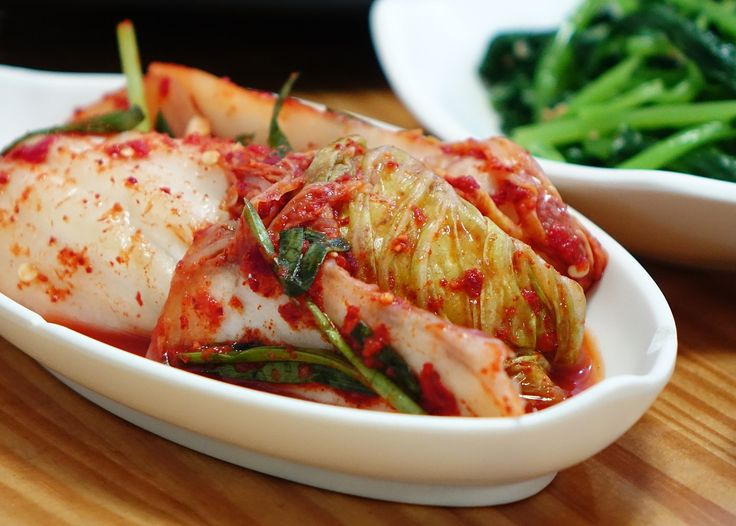 """Kimchi is a tasty fermented food that's easy to make at home. It's considered Korean """"soul food"""" and has been served as a side dish there for many generations. Koreans consume about 40 pounds of this superfood per person peryear."""