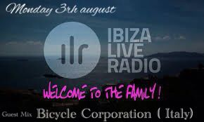 "Happy to announce our guest mix for the show "" Vitamins ""on Ibiza Live Radio • Monday 3th August hosted by Motoe Haus! https://www.facebook.com/ibizaliveradio  https://www.facebook.com/bicyclecorporation"