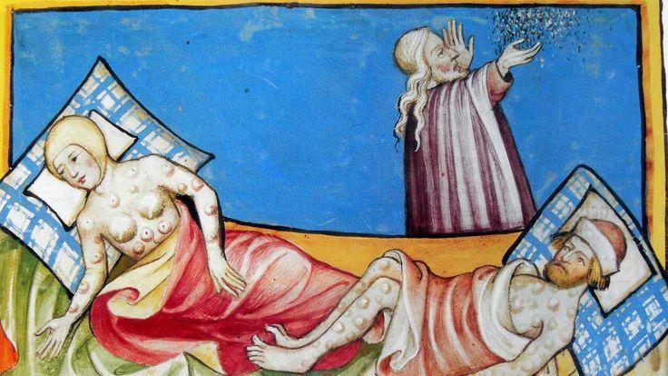 Foto: Illustrasjon, Toggenburg-bibelen fra 1411